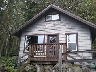 Lake Crescent Cabin - lodging available year round inside Olympic National Park