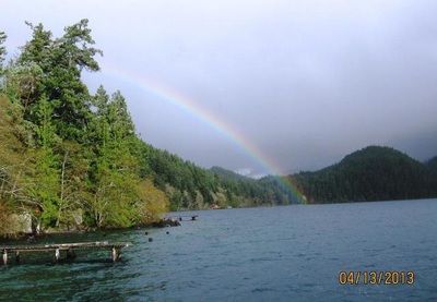 lodging at Lake Crescent Cabin available year round inside Olympic National Park